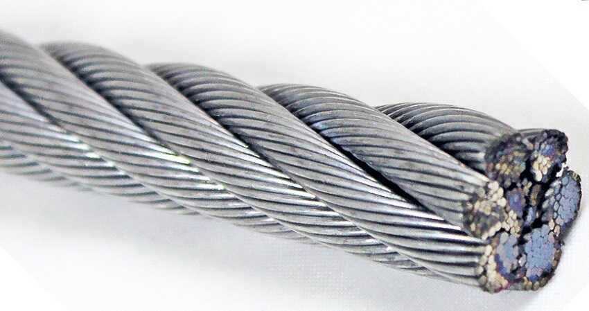 vật liệu dây cáp thép