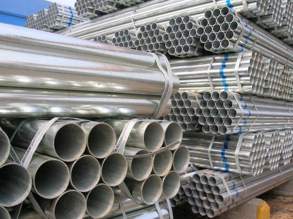 quy cách thép ống mạ kẽm