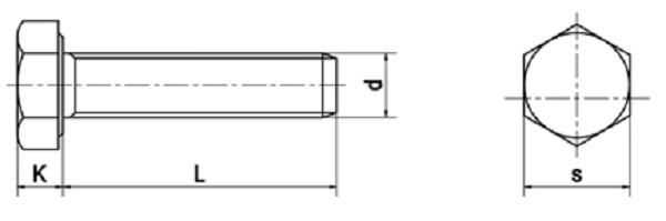 đường kính bu lông tiêu chuẩn